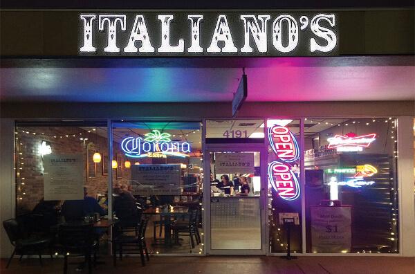 Italianos South Venice FL, Best Pizza Venice FL, Italian Restaurants, Venice, FL Pizza. Venice Pizza Delivery
